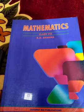 Rd Sharma maths book