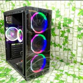 Komputer PC CPU gaming desegen core i5 ram8gb sistem ssd vga card 2gb