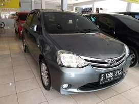 Toyota Etios E 1.2 manual abu2 istimewa bersih