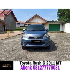 Toyota rush g manual 2011/2012,KM rendah tangan pertama,siap pakai