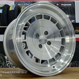 Kredit Velg Racing Ring 16 Untuk Datsun Jazz Yaris Lancer Dll