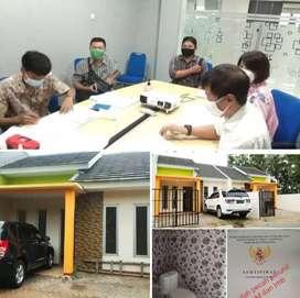 SHM Perunit 1unit lg rumah siap huni free biaya notaris,surat,BBN