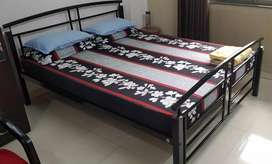 Godrej interio queen size bed