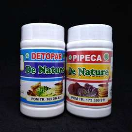 De Nature HERBAL Obat Detoks Paru Paru, Asma Herbal Detopar Pipeca