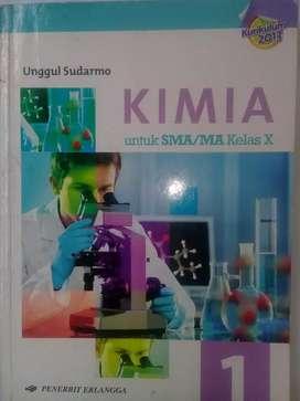 """"""" School Book KIMIA SMA/MA Kelas X """""""