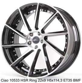 CIAO 10533 HSR R22X9 H5X114,3 ET35 BMF fortuner