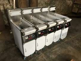 Lpg special deep fryer gas saver