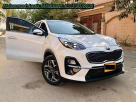 KIA Sportage get on easy monthly installments.