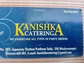 KANISHKA CATERING      கனிஷ்கா கேட்டரிங்
