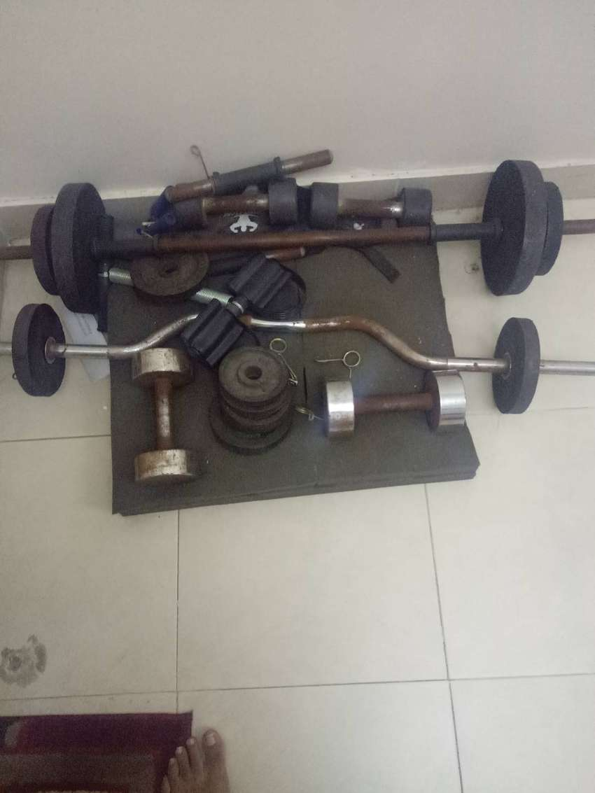 Gym weights for sale 0