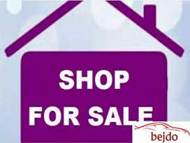 Shop for sale at very prime location on Aara Road Krishna Nagar