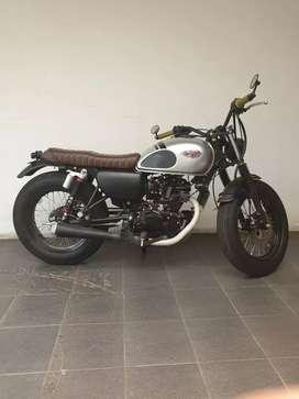 Kawasaki W175 Custom Bobber Style