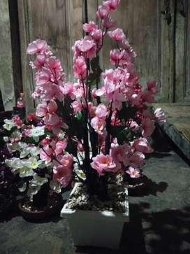 Bunga Kertas Hiasan Meja rumah tamu