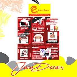 Jasa desain grafis design konten feed medsos digital marketing