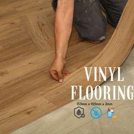 Lantai Vinyl kayu TACO 3mm