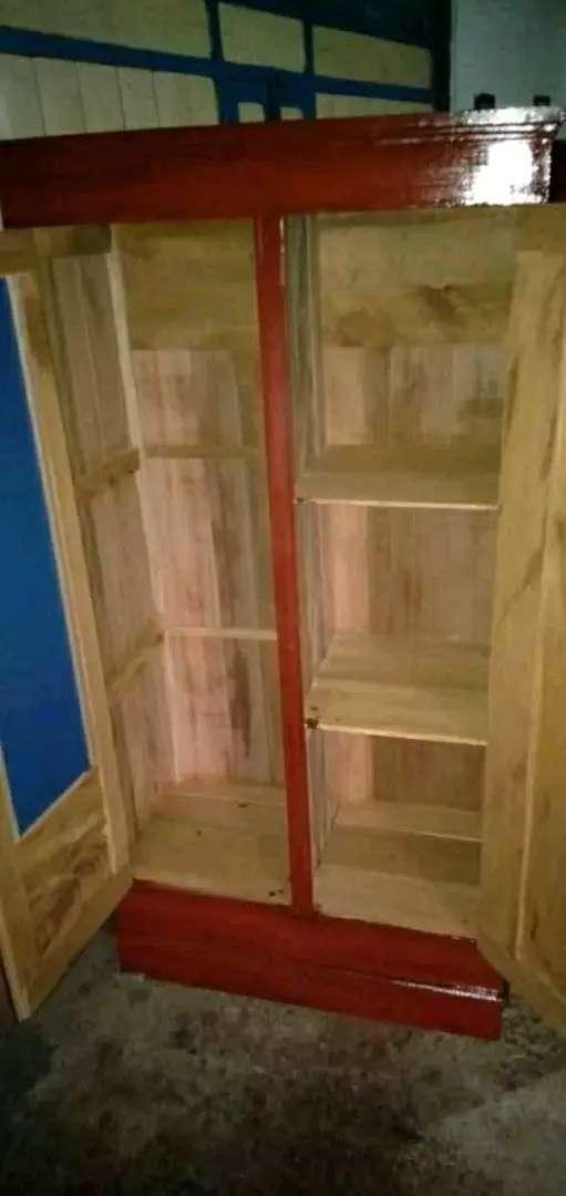 jual lemari kayu siap antar ke rumah 0