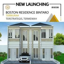 rumah mewah 2lt harga bisa nego BOSTON RESIDENCE BINTARO