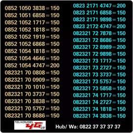 Nomor Cantik 4gLTE Seri Kawin Abab