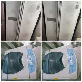 //Samsung fully automatic washing machine @ 5500 side by side availabl