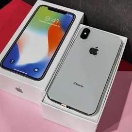 iPhone , Iphone X 64Gb Silver Mulus Terawat