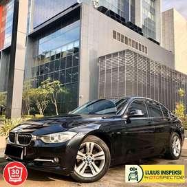 [Lulus Inspeksi] BMW 320i SPORT LINE F30 2015 HITAM