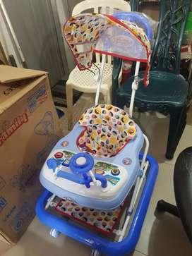 Baby Walker FAMILY Pakai Kanopi (NEGO)