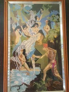 Kristik Sulam Joko Tarub dan 7 Bidadari (Serupa yg Di Film Mangkujiwo)