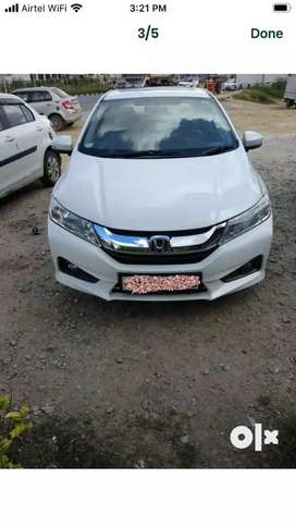 Honda city ZX. top end model with sunroof  insurance till may 2021