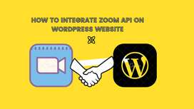 I Will integrate zoom conference in your WordPress Website