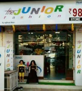 """Invites Franchisees for """" The Junior Fashion Rs 98 Store """""""