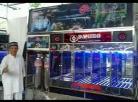 Paket depot air minum isi ulang galon stainlees produk Damisiu