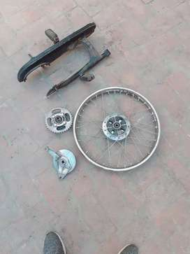 I'm selling spir parts for 100cc road prince 100% ganman urgent sell