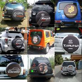 Selimut Ban Serep Mobil Escudo-Rubicon Cover ban Rush/terios Antik  Mo