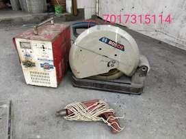Rs-13000only Welding machine+14inch bosch cutter+ hammerdrill