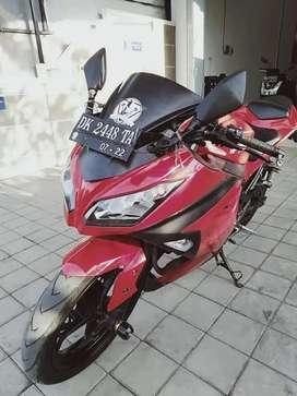 Jual kawasaki ninja 250cc 2015 posisi di bali