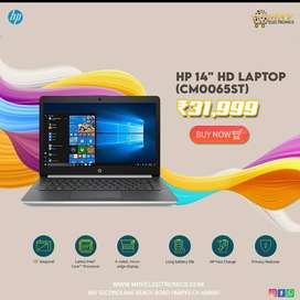 HP 14 CM0065ST, AMD A9-9425 Processor, 4 GB RAM, 128 GB SSD WITH WARRA