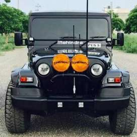 Full modified Thar power steering power brake all India Transport