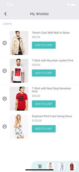 Ecommerce app android and ios