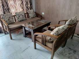 Wooden Sofa (5 seater)