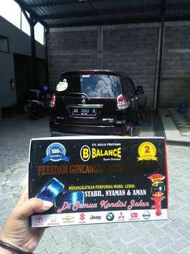 BALANCE DAMPER Hadir sebagai Solusi Mobil dg Masalah Limbung / Ngayun2