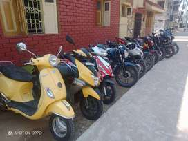All bike and scooty sale purchase exchange available.