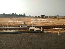 .Plot with All Clear Papers and Approvals Near Hoskote-Ecocity