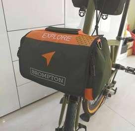 Tas Brompton EXPLORE Front Bag Tas Sepeda Lipat Fnhon Dahon Trifold ID