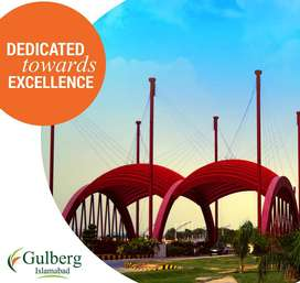 Block i 10 Marla 400 Series Plot available For Sale Gulberg Residencia