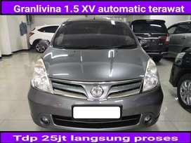 Nissan Grandlivina 1.5 XV automatic/at 2011 mulus siap pakai