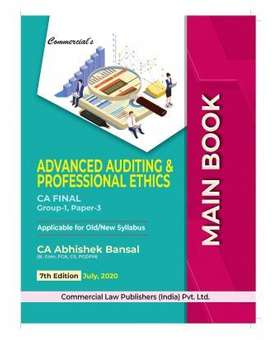 CA final auditing Handwritten book by Abhishek Bansal sir