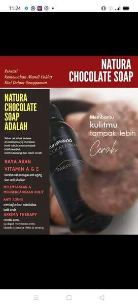 Natura chocholate soap