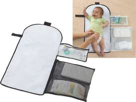 BabyNeed Foldable Portable Baby Diaper Changing Kit Bag Avent Tommee