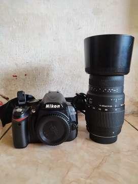 Nikon D3000 sigma 70 300mm