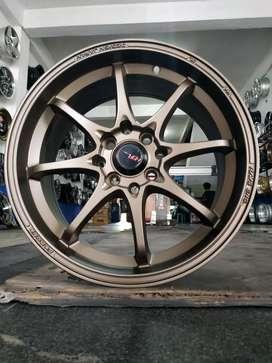 Jual velg racing HSR Ring 16 Buat mobil agya, Brio, Mazda 2